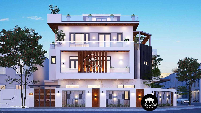 Thiết kế thi công biệt thự hiện đại đẹp 3 tầng 7x14m tại Nha Trang thumbnail