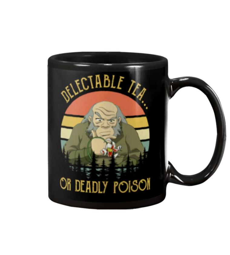 DELECTABLE TEA OR DEADDLY POISON MUG