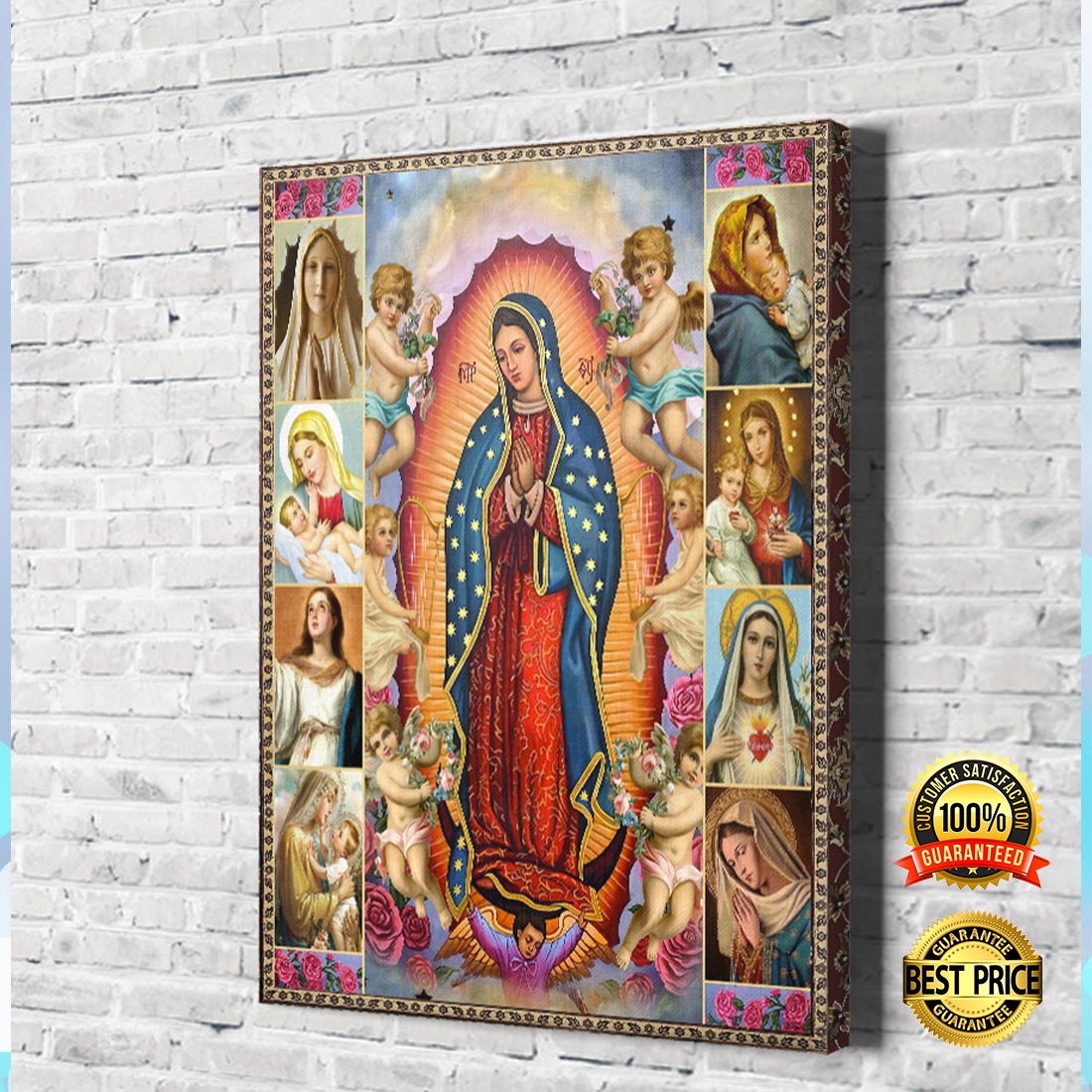 [HOT] OUR LADY OF GUADALUPE CANVAS