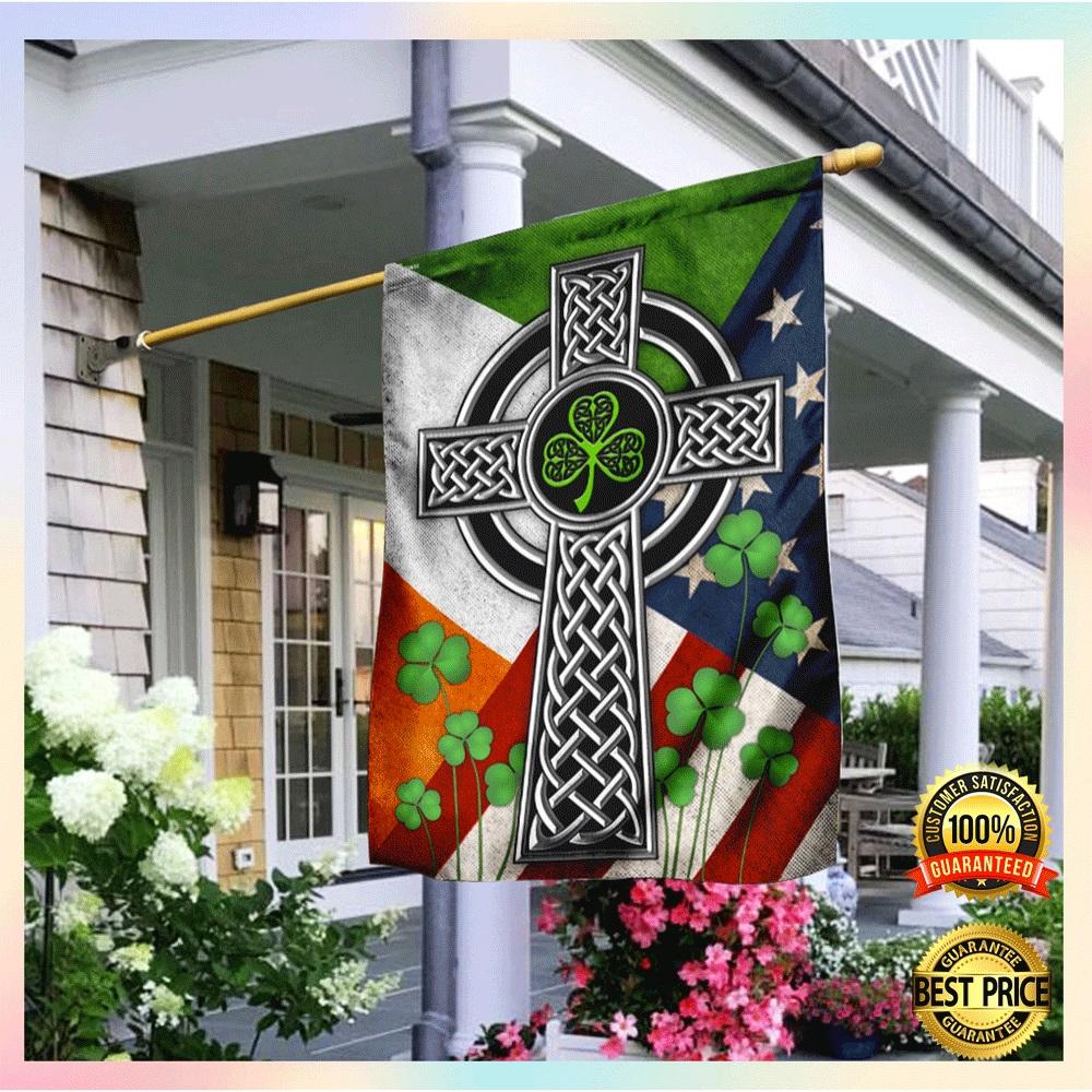 [WOW] Irish Celtic Knot Cross Flag