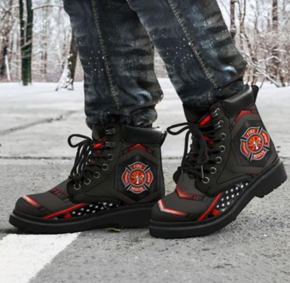 [High] Firefighter Timberland Boots