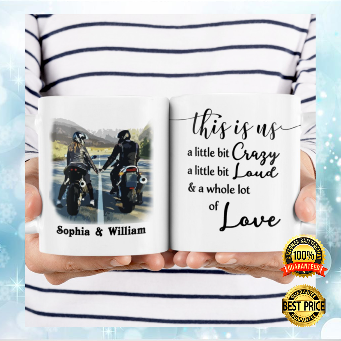 [TREND] PERSONALIZED MOTORCYCLING COUPLE THIS IS US MUG