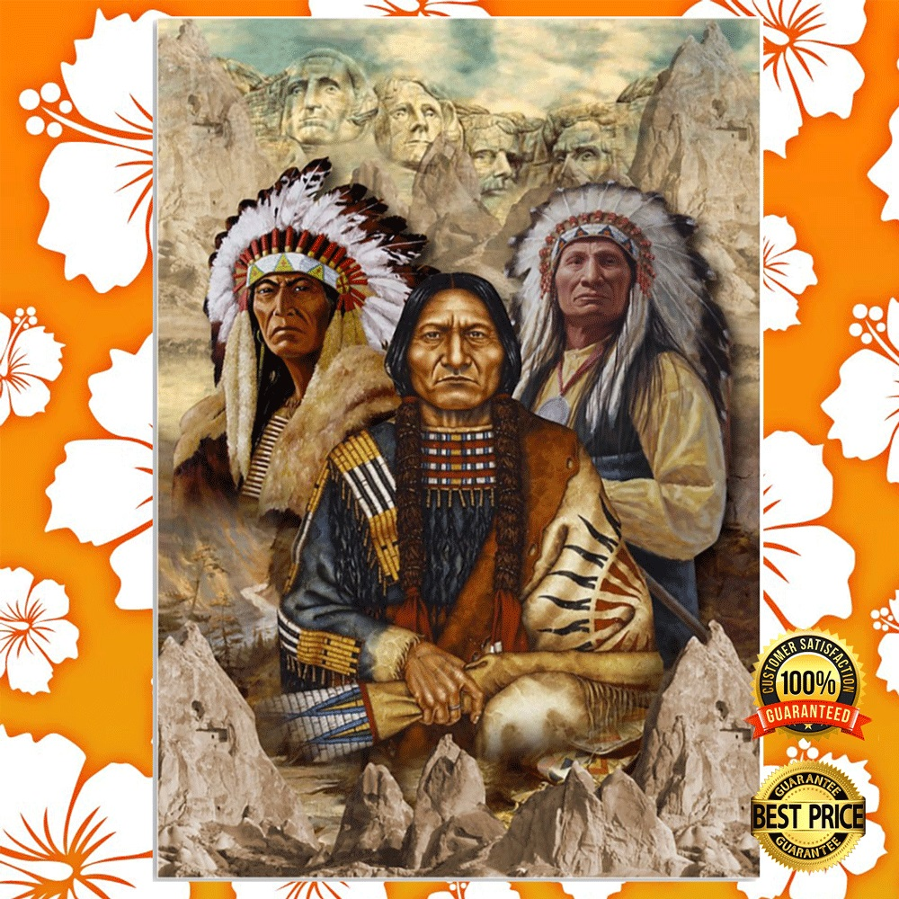 [NEW] INDIGENOUS MAN NATIVE AMERICAN POSTER