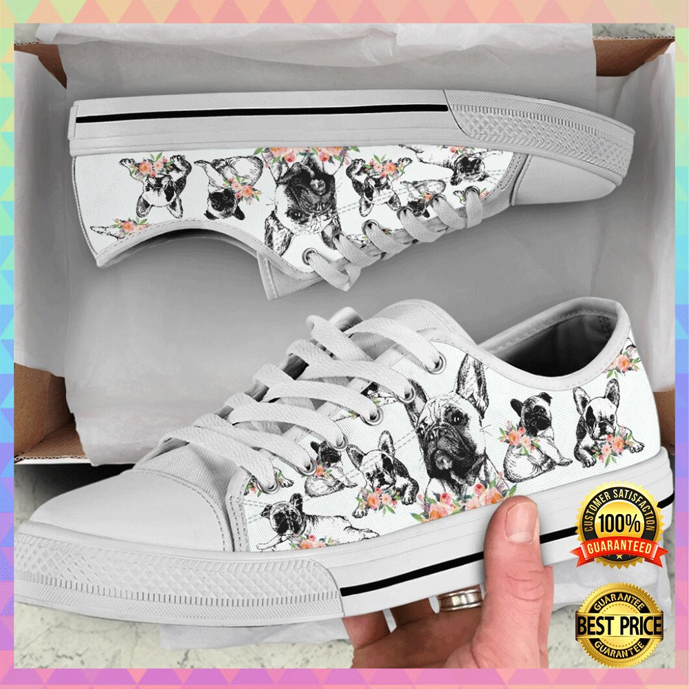 [Hot] Frenchie Lover Low Top Shoes