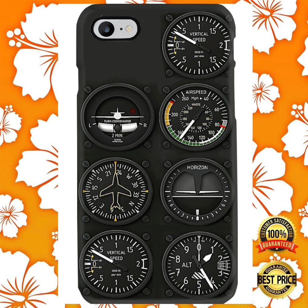 [Trend] Pilot Six Flight Instruments Phone Case