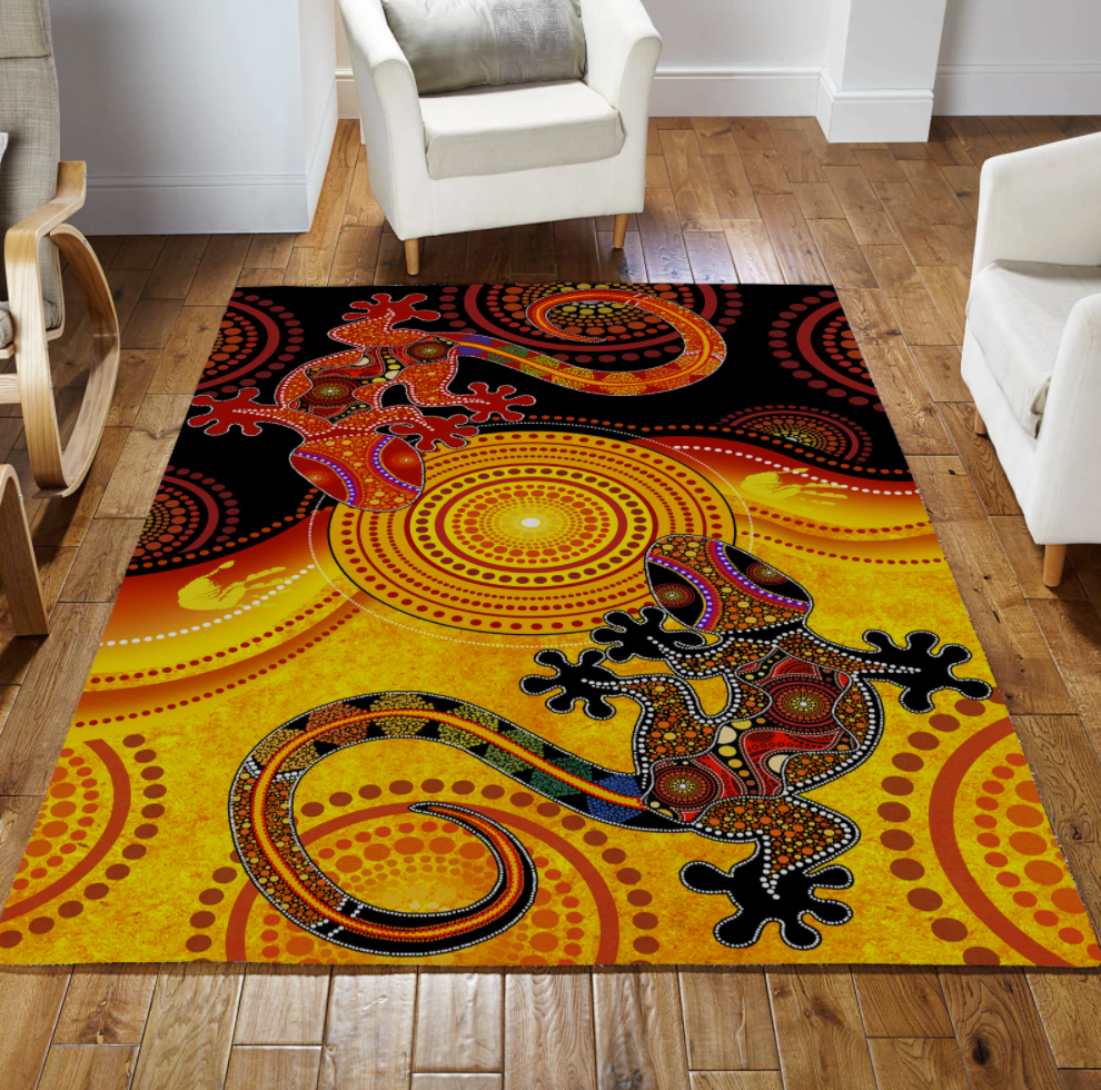 [Discount] Aboriginal Lizards Rug