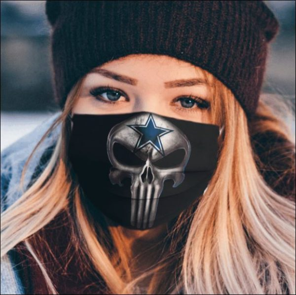 [Discount] Dallas Cowboys The Punisher face mask