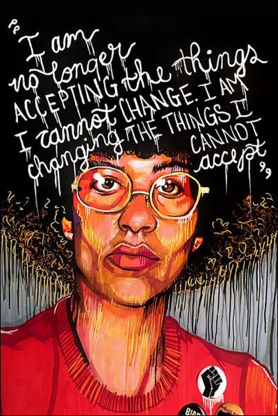 [Discount]  I am no longer accepting the things i cannot change i am changing the things i cannot accept poster