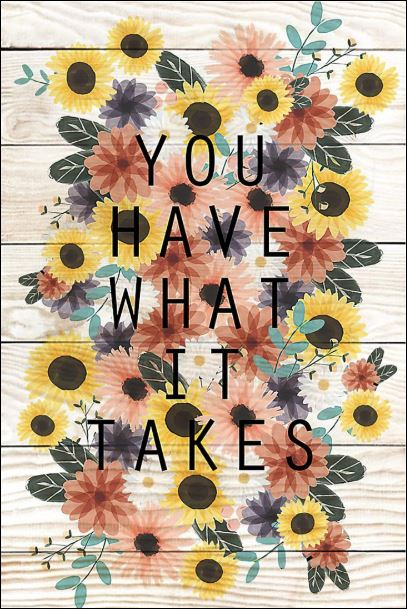 [Cheapest] You have what it takes poster