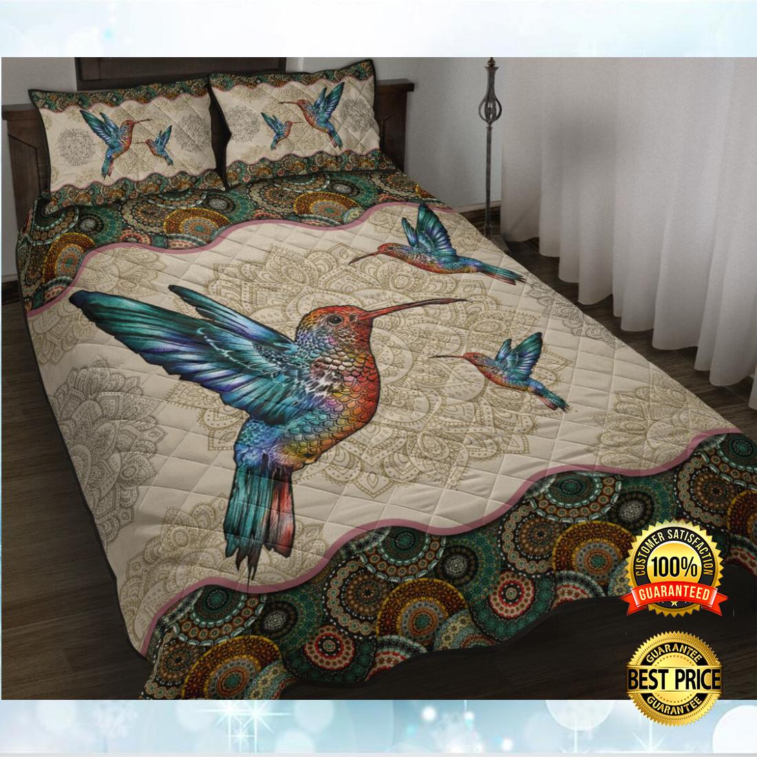 HUMMINGBIRD MANDALA BEDDING SET 5