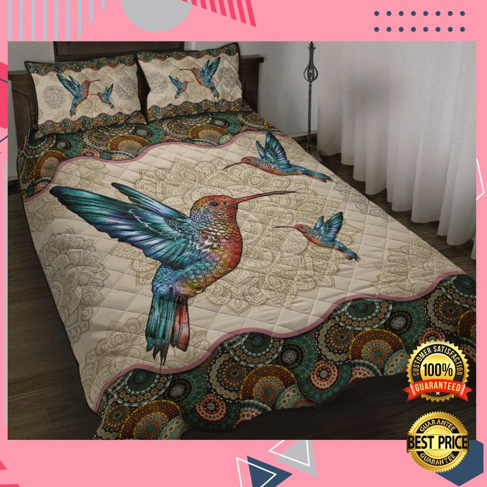 HUMMINGBIRD MANDALA BEDDING SET 7
