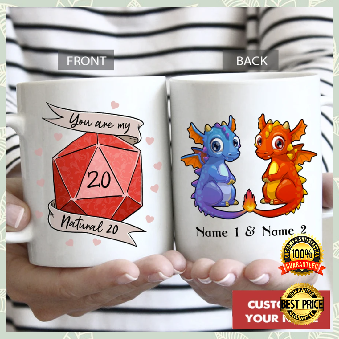 PERSONALIZED DRAGON YOU ARE MY NATURAL 20 MUG 5