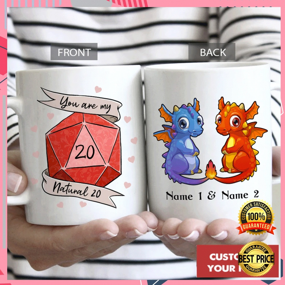 PERSONALIZED DRAGON YOU ARE MY NATURAL 20 MUG 7