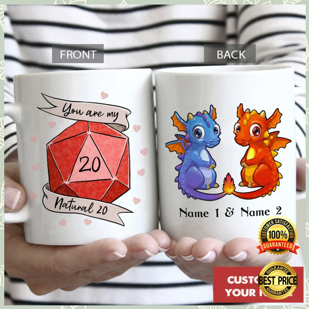 PERSONALIZED DRAGON YOU ARE MY NATURAL 20 MUG 4