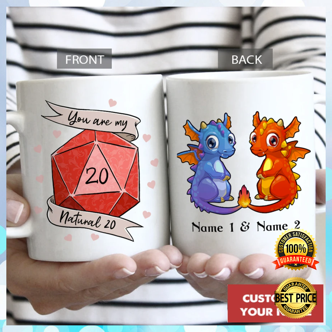 PERSONALIZED DRAGON YOU ARE MY NATURAL 20 MUG 6