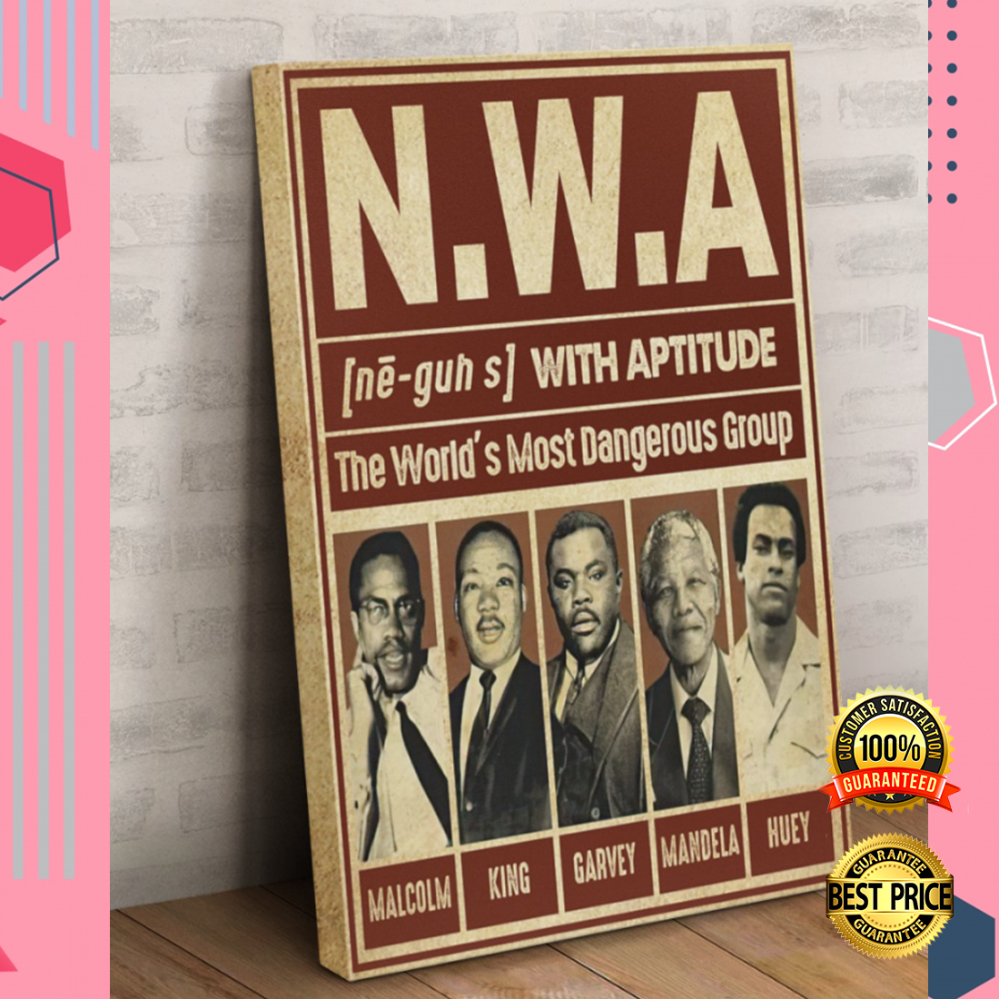 Nwa The World's Most Dangerous Group Canvas 5