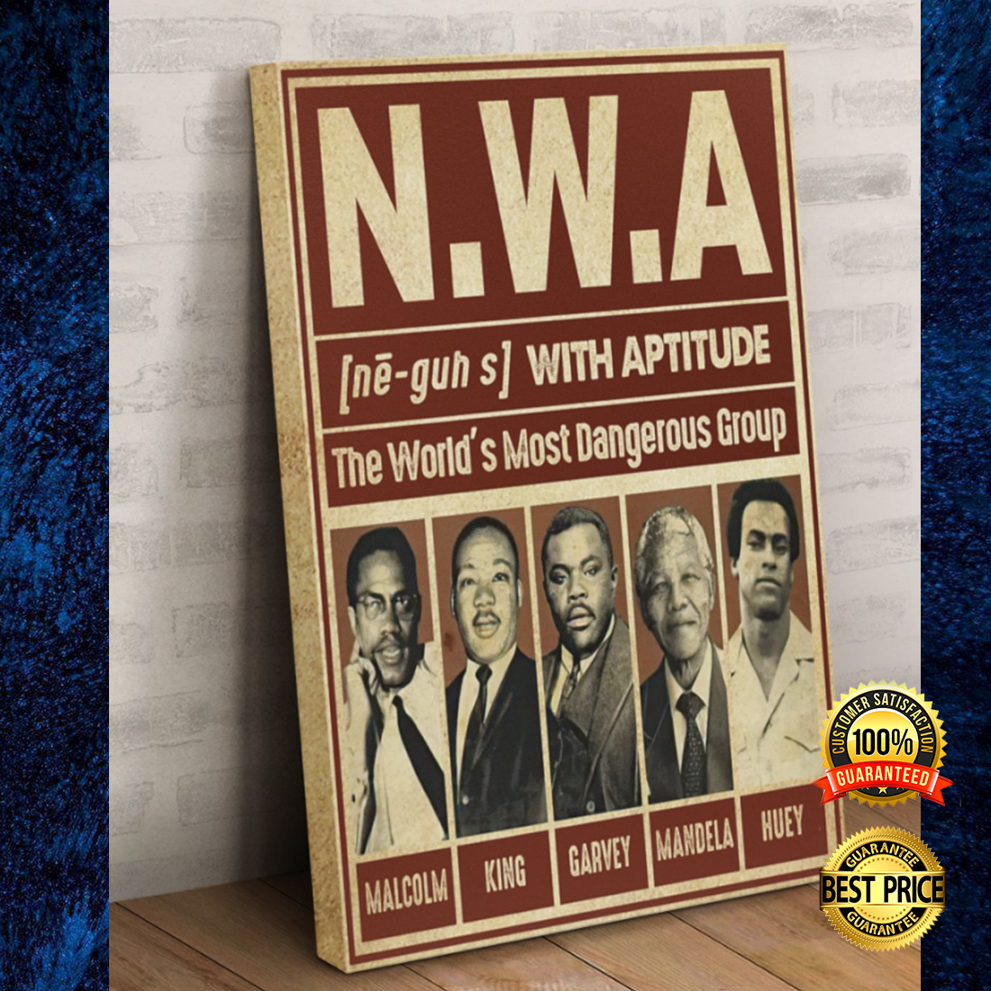 Nwa The World's Most Dangerous Group Canvas 7