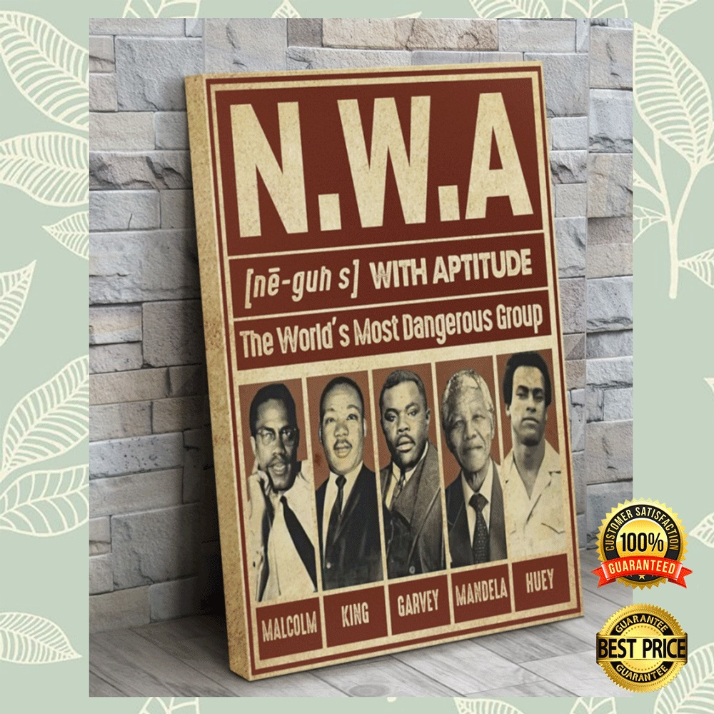 Nwa The World's Most Dangerous Group Canvas 4