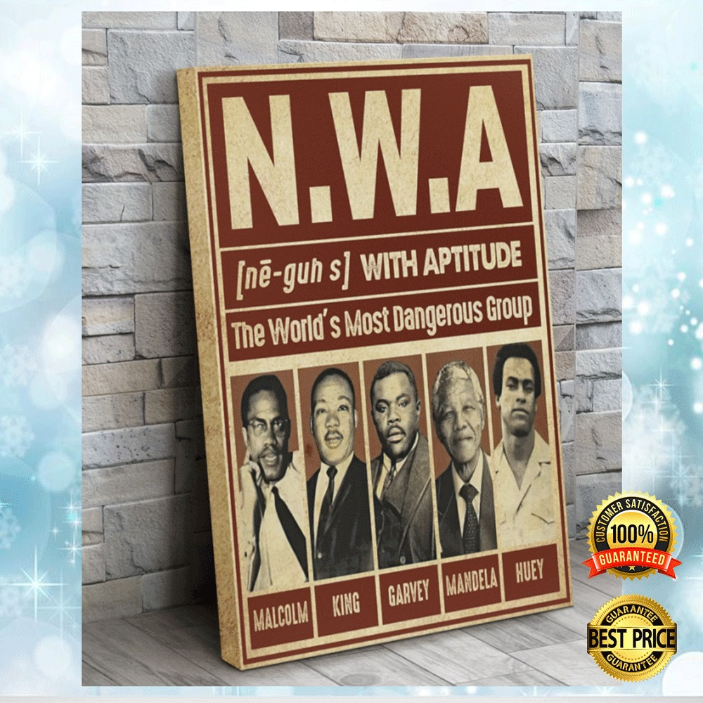 Nwa The World's Most Dangerous Group Canvas 6