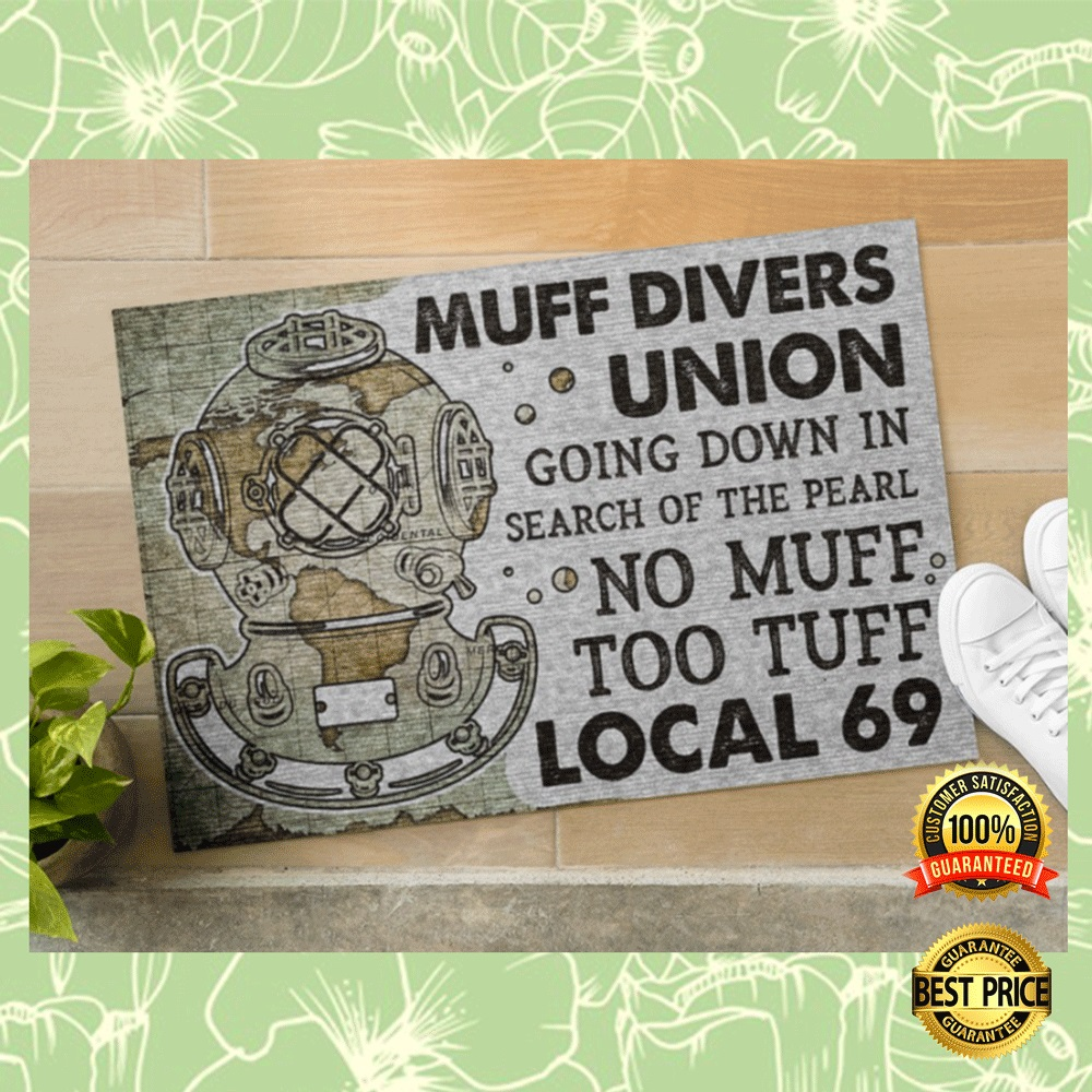 MUFF DIVERS UNION GOING DOWN IN SEARCH OF THE PEARL DOORMAT 5