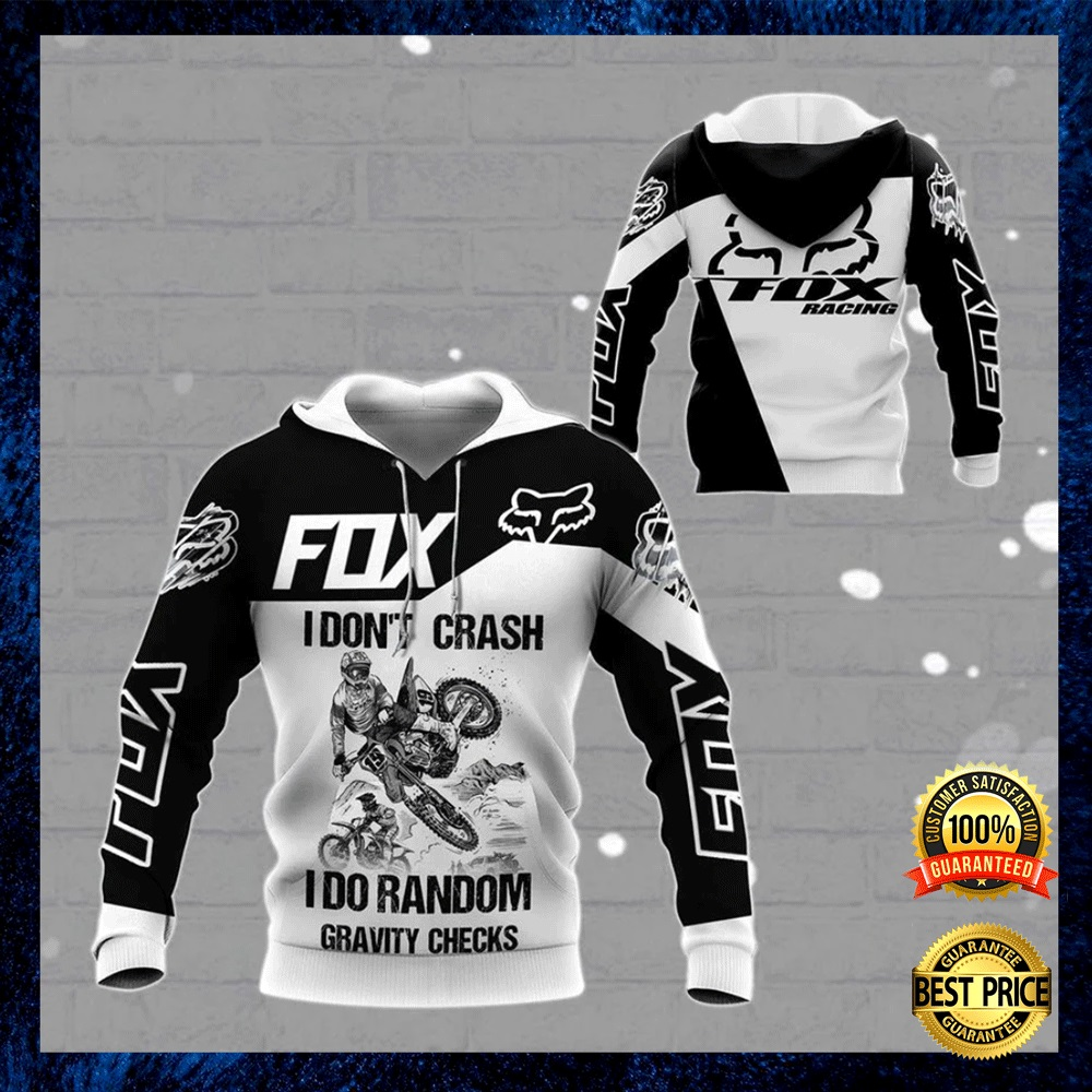 Fox Racing live to ride ride to live go fuck yourself all over printed 3D hoodie 4