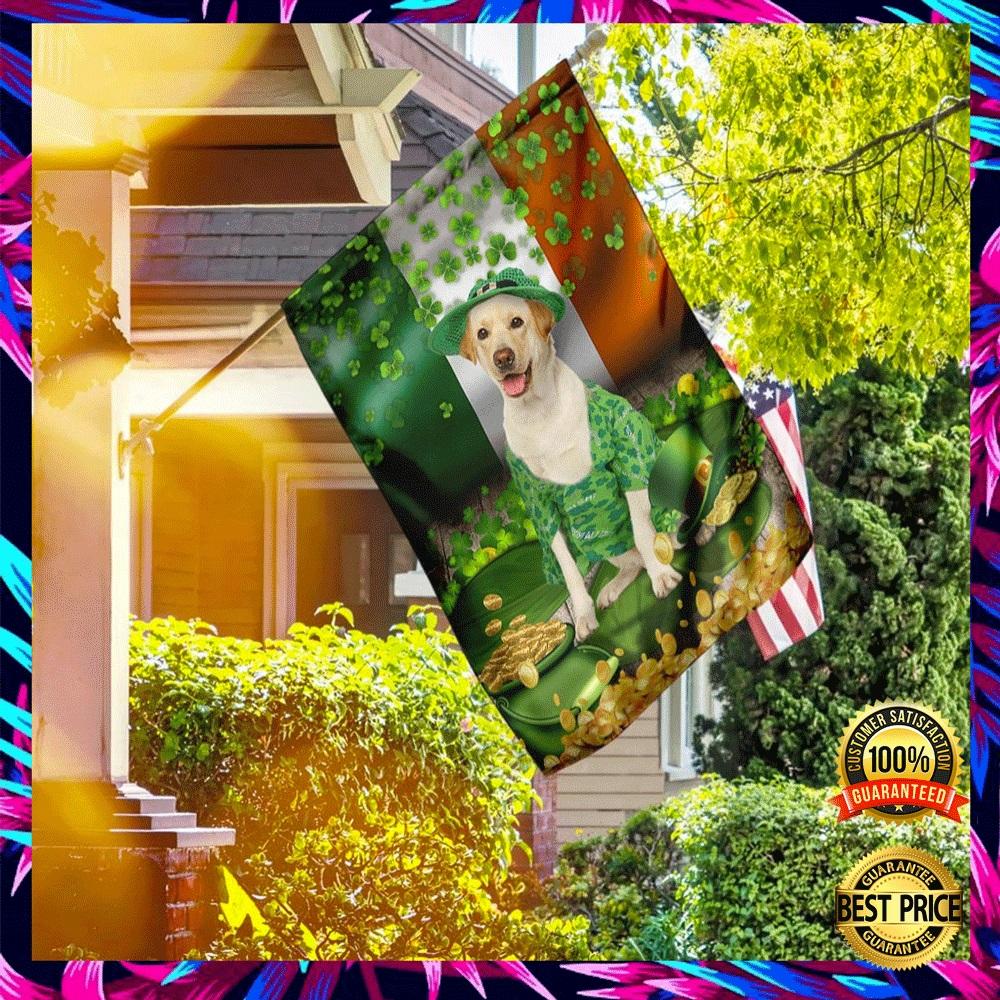 LABRADOR ST. PATRICK'S DAY FLAG 6