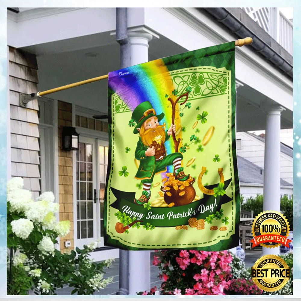 LEPRECHAUN HAPPY SAINT PATRICK'S DAY FLAG 5