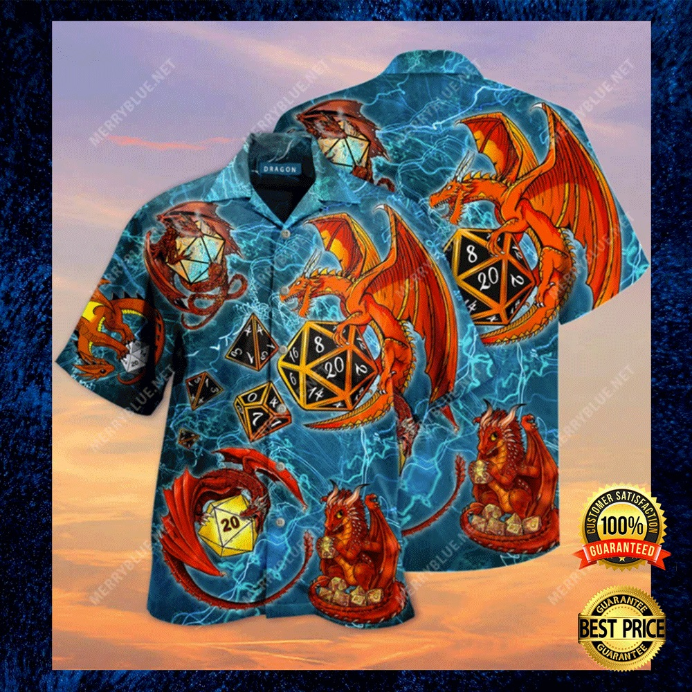 DRAGON DICE HAWAIIAN SHIRT 6