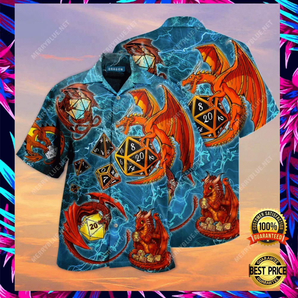 DRAGON DICE HAWAIIAN SHIRT 4