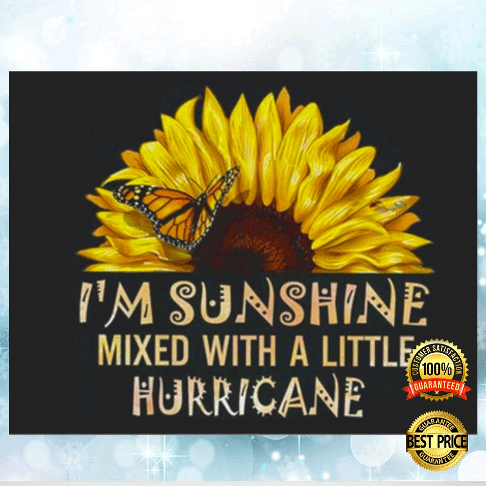 I'M SUNSHINE MIXED WITH A LITTLE HURRICANE STICKER 4