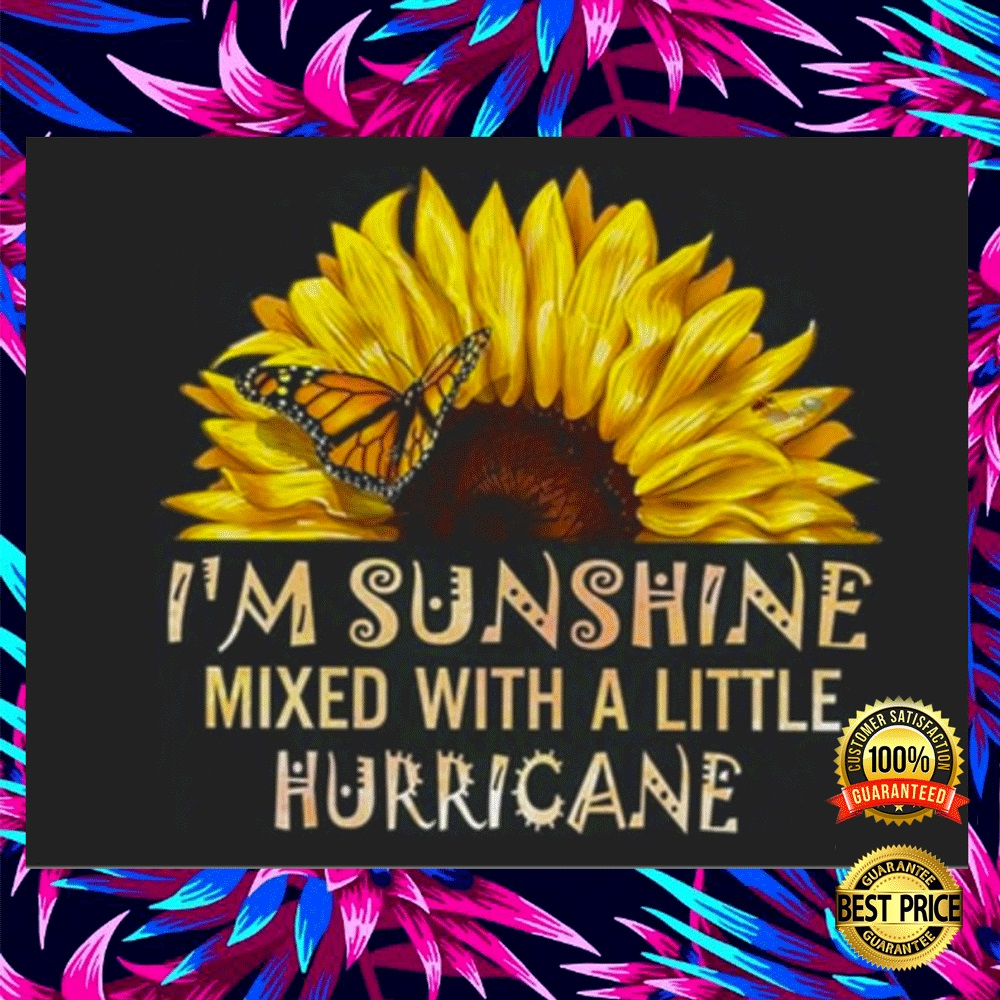 I'M SUNSHINE MIXED WITH A LITTLE HURRICANE STICKER 5