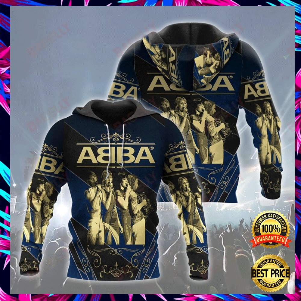 ABBA ALL OVER PRINT 3D HOODIE 6
