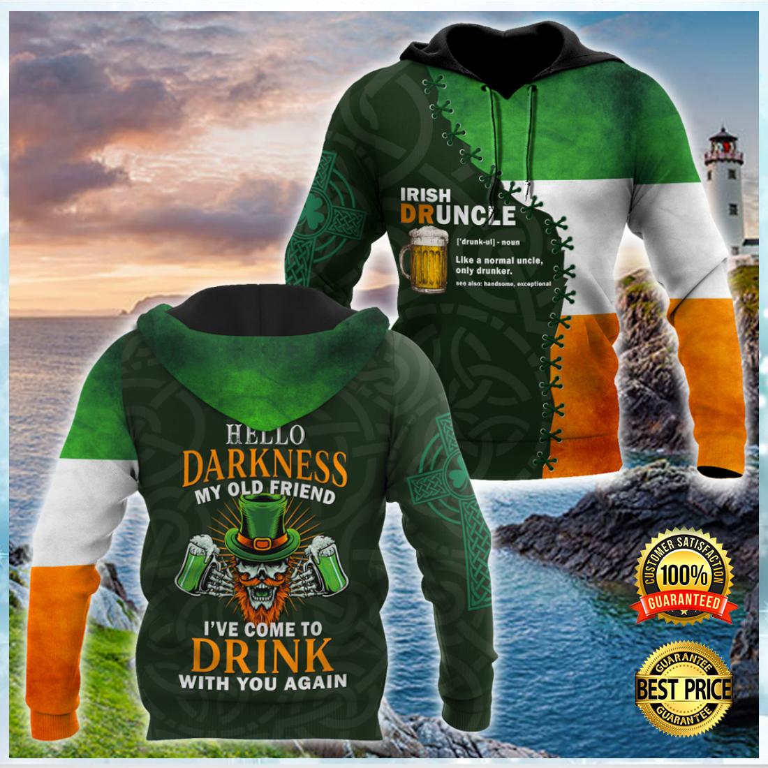 IRISH DRUNCLE ALL OVER PRINT 3D HOODIE 4