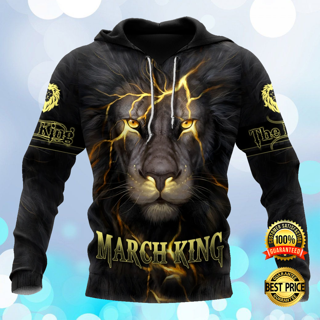 MARCH LION KING ALL OVER PRINTED 3D HOODIE 5