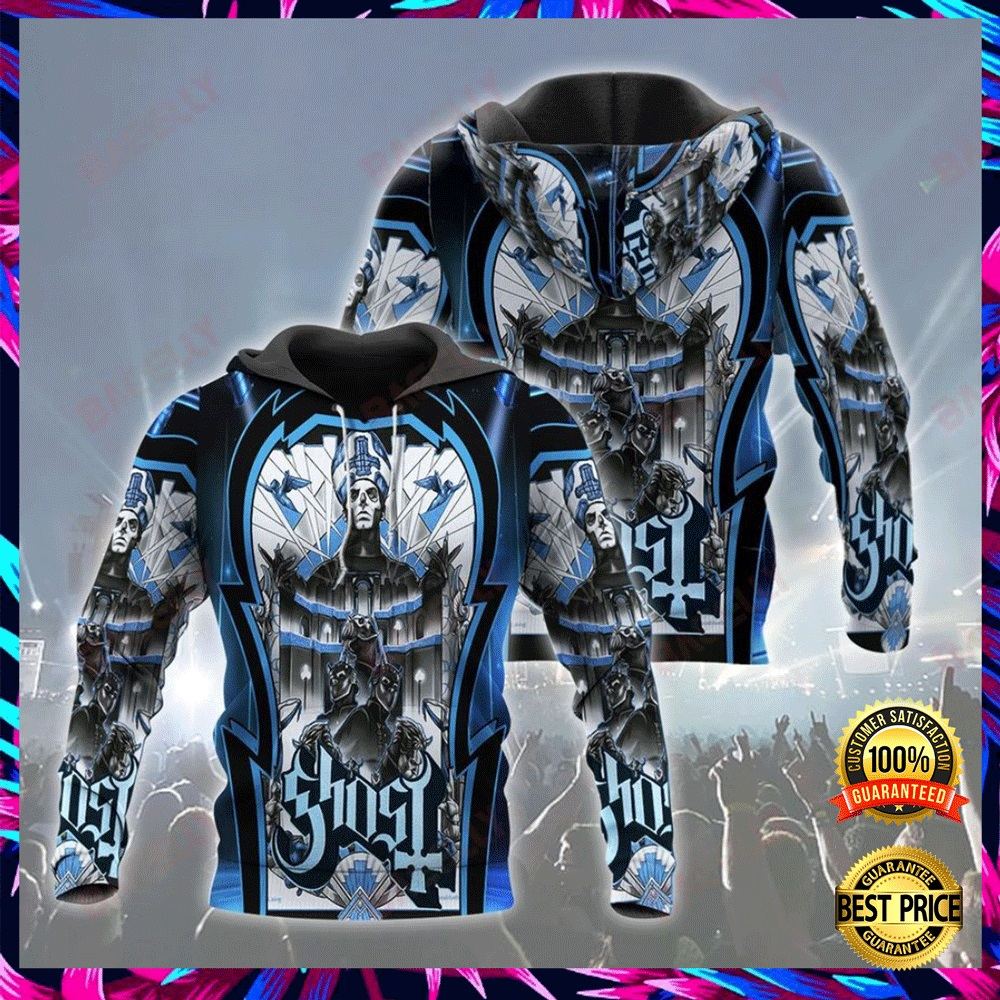 GHOST ALL OVER PRINT 3D HOODIE 6