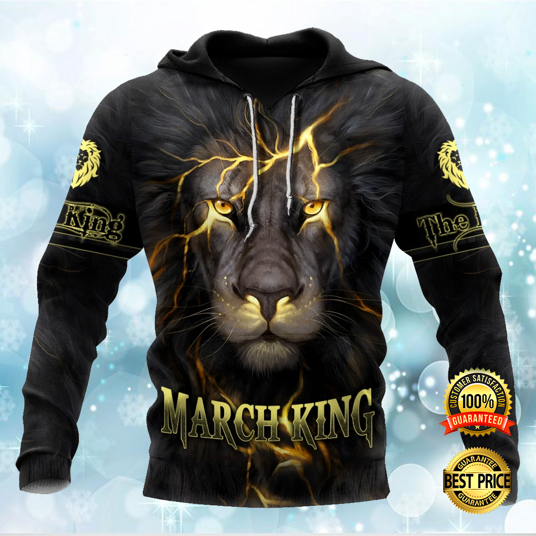 MARCH LION KING ALL OVER PRINTED 3D HOODIE 7
