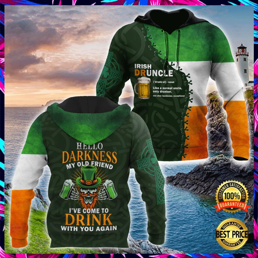 IRISH DRUNCLE ALL OVER PRINT 3D HOODIE 5