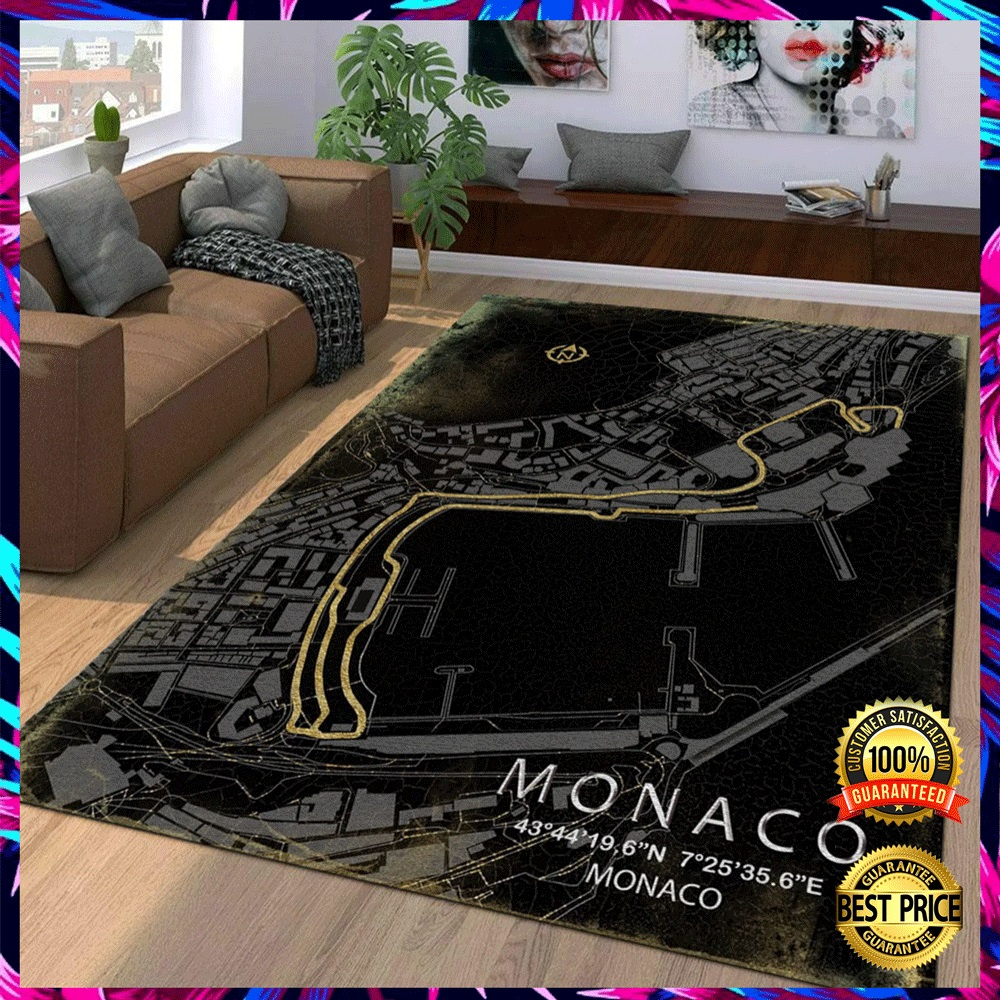 MONACA RACE TRACK RUG 5
