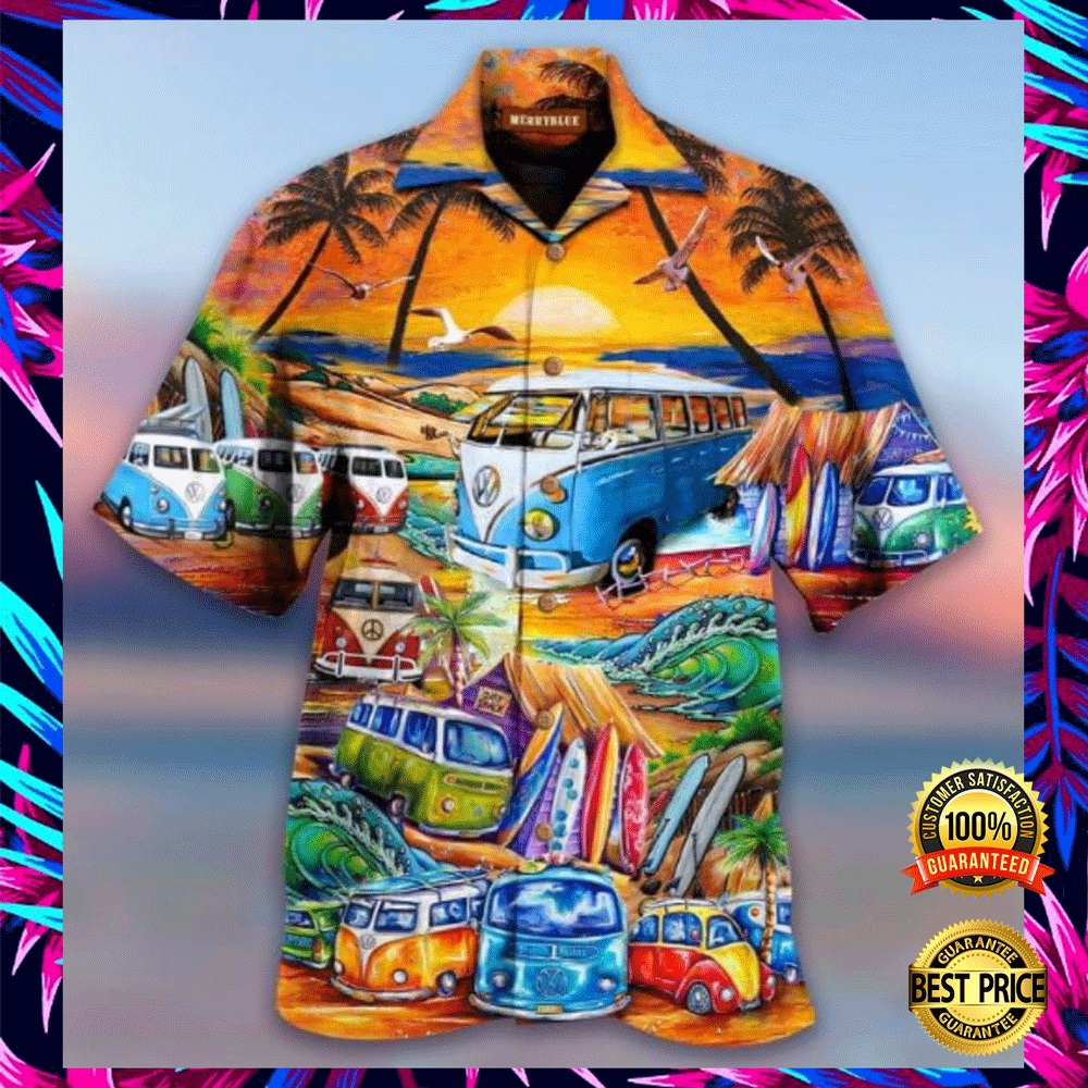 VOLKSWAGEN AND INTO THE OCEAN I GO TO LOSE MY MIND AND FIND MY SOUL HAWAIIAN SHIRT 6