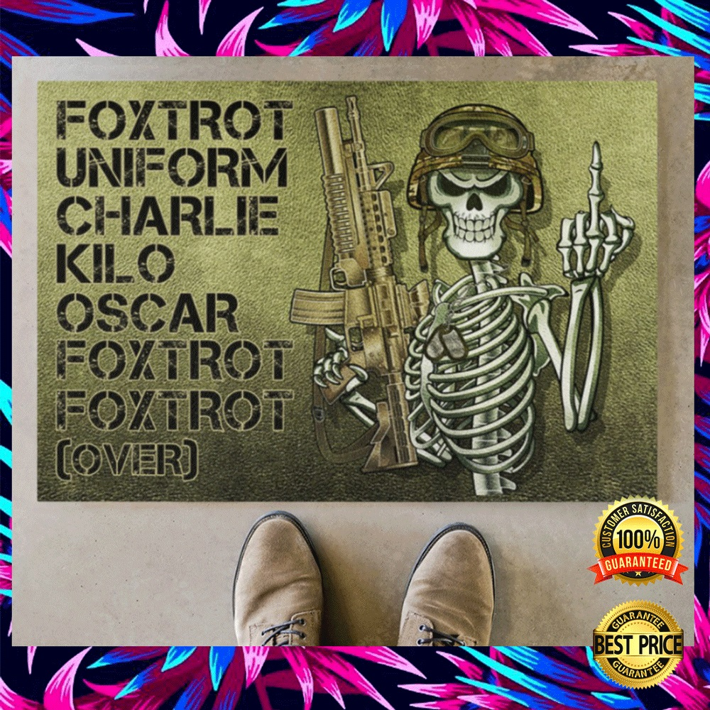 FOXTROT UNIFORM CHARLIE KILO OSCAR FOXTROT FOXTROT OVER DOORMAT 5