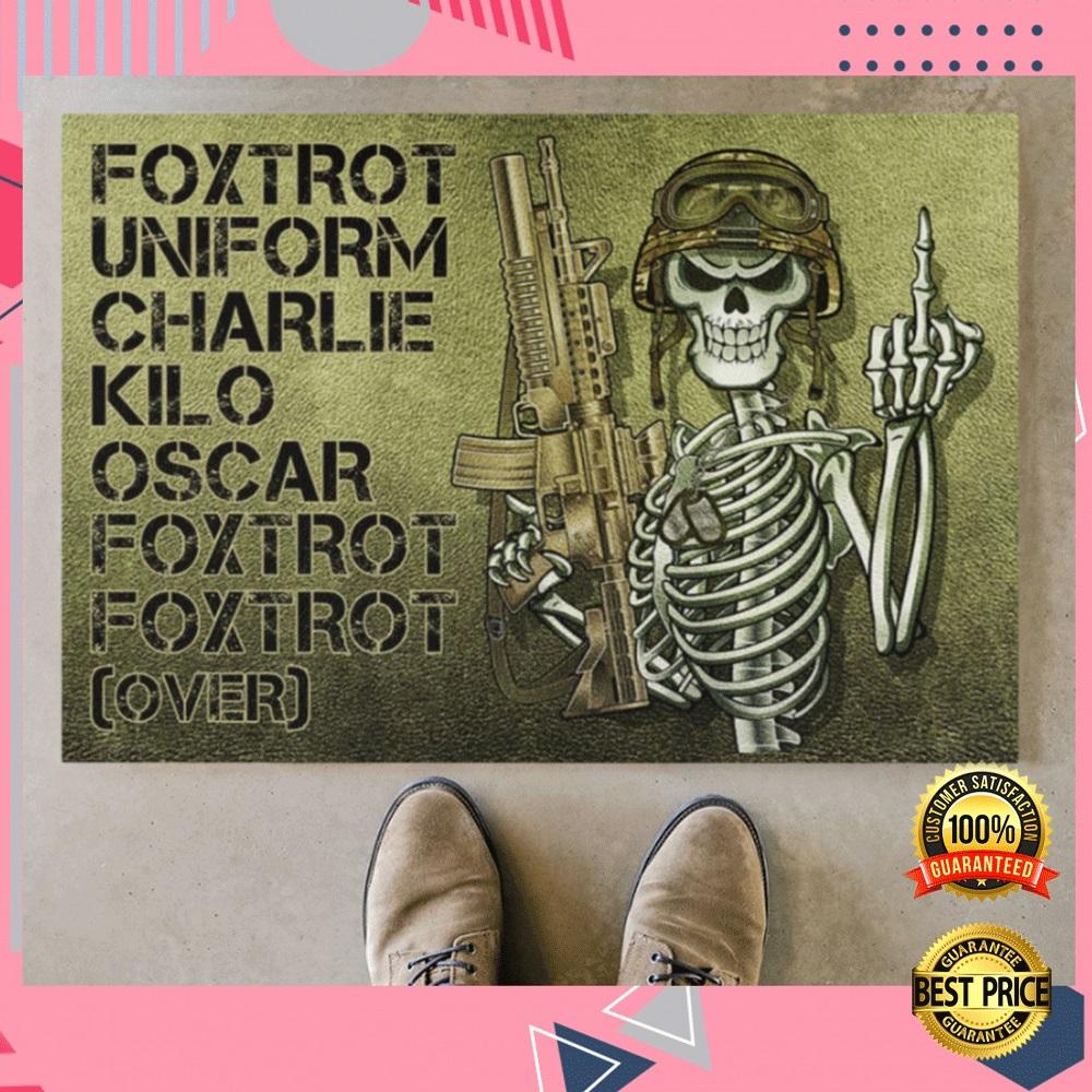 FOXTROT UNIFORM CHARLIE KILO OSCAR FOXTROT FOXTROT OVER DOORMAT 4
