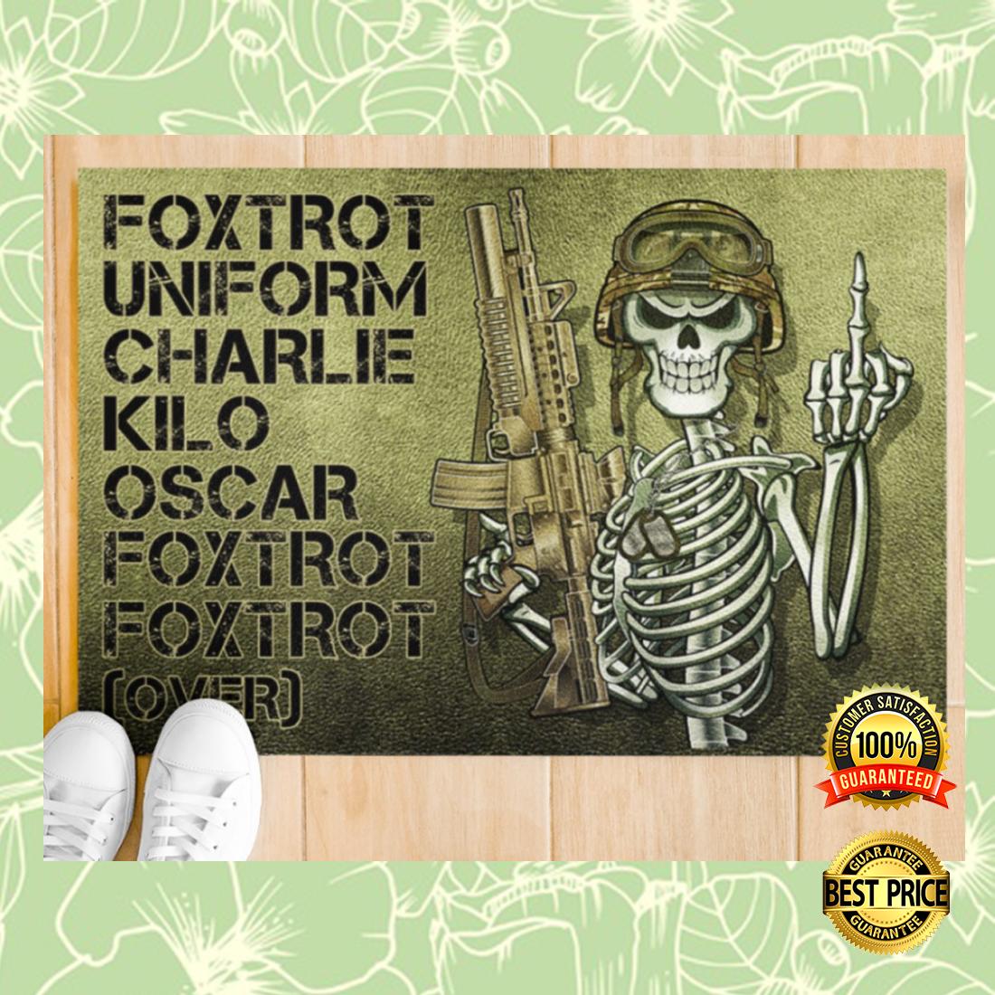 FOXTROT UNIFORM CHARLIE KILO OSCAR FOXTROT FOXTROT OVER DOORMAT 6