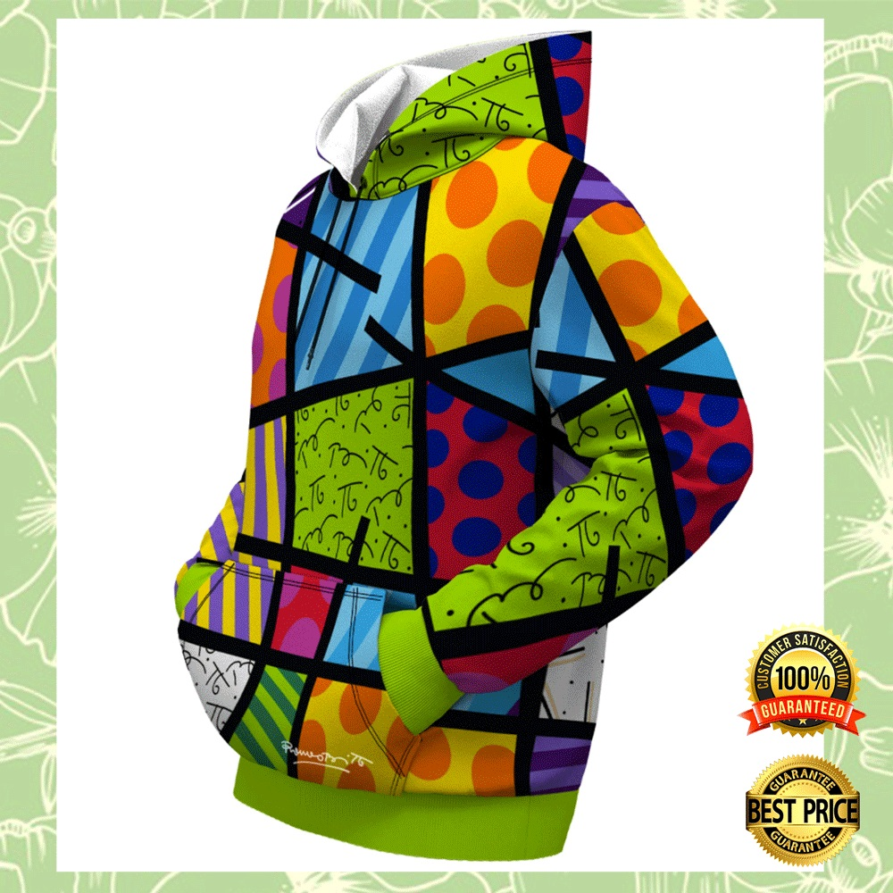 COLOR LANDSCAPE BY ROMERO BRITTO ALL OVER PRINTED 3D HOODIE 4