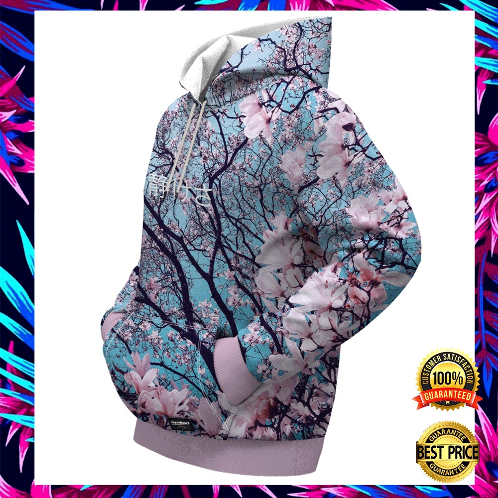 CHERRY BLOSSOM ALL OVER PRINTED 3D HOODIE 5
