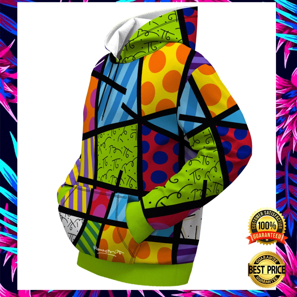COLOR LANDSCAPE BY ROMERO BRITTO ALL OVER PRINTED 3D HOODIE 5