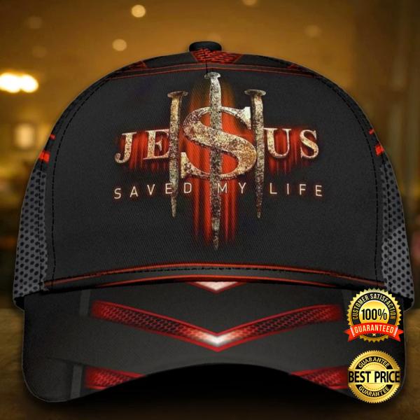 JESUS SAVED MY LIFE CAP 6