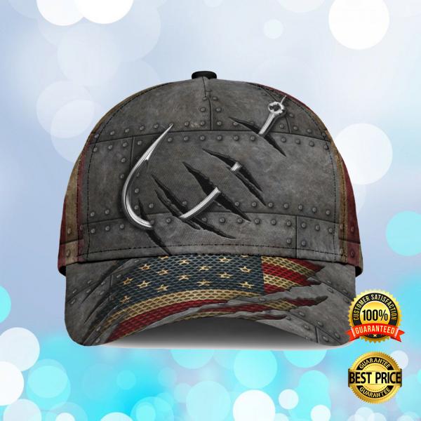 FISHING AMERICAN FLAG CAP 6