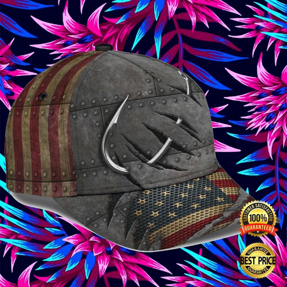 FISHING AMERICAN FLAG CAP 5