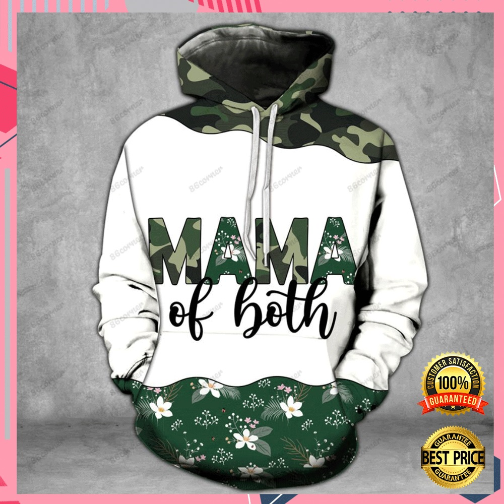 MAMA OF BOTH CAMO ALL OVER PRINTED 3D HOODIE, LEGGING AND TANK TOP 7