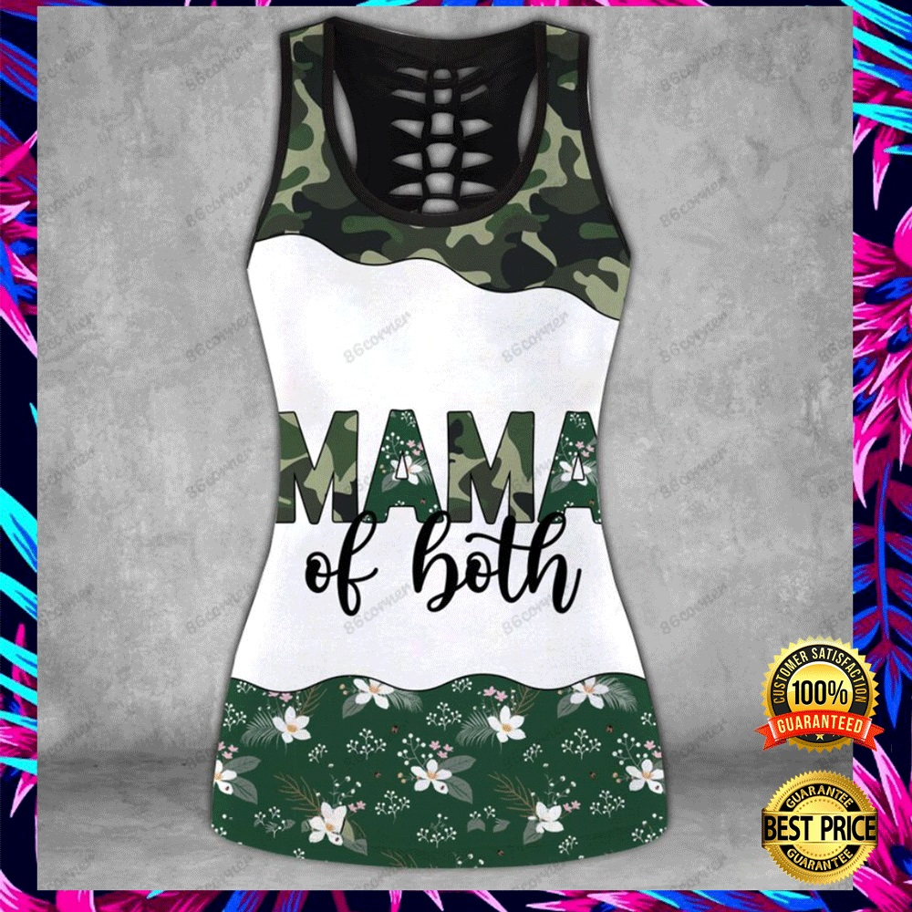 MAMA OF BOTH CAMO ALL OVER PRINTED 3D HOODIE, LEGGING AND TANK TOP 5